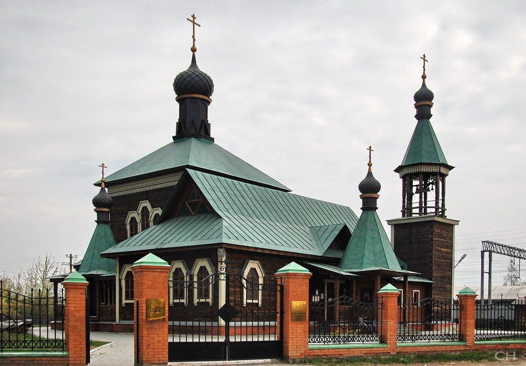 Петушки. Церковь Афанасия Ковровского, Петушки