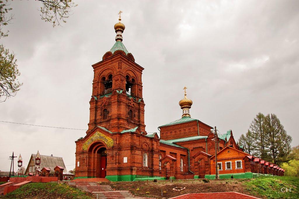 Петушки. Успенская церковь (1910), Петушки