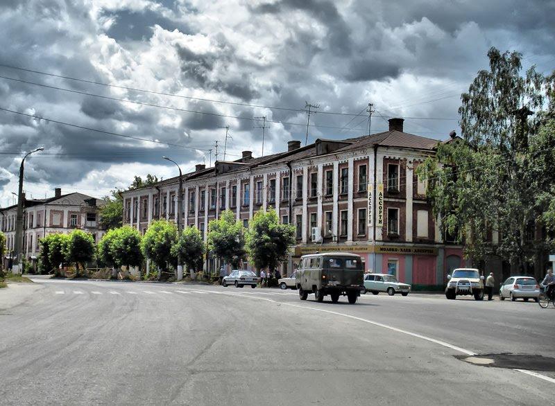 Угловой магазин, Собинка