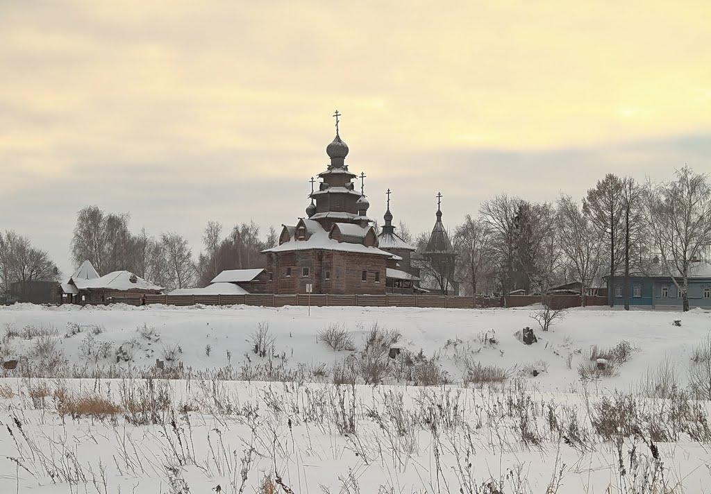 Suzdal Museum of Wooden Architecture Суздаль, музей деревянного зодчества, Суздаль