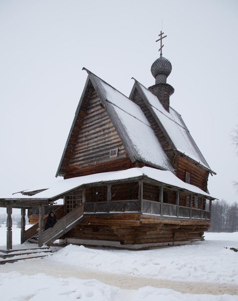 Никольская церковь  Church of St. Nicholas, Суздаль