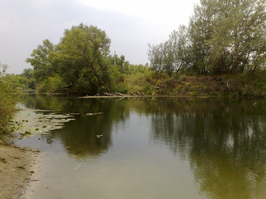 am Fluss Ilovlja, Кириллов