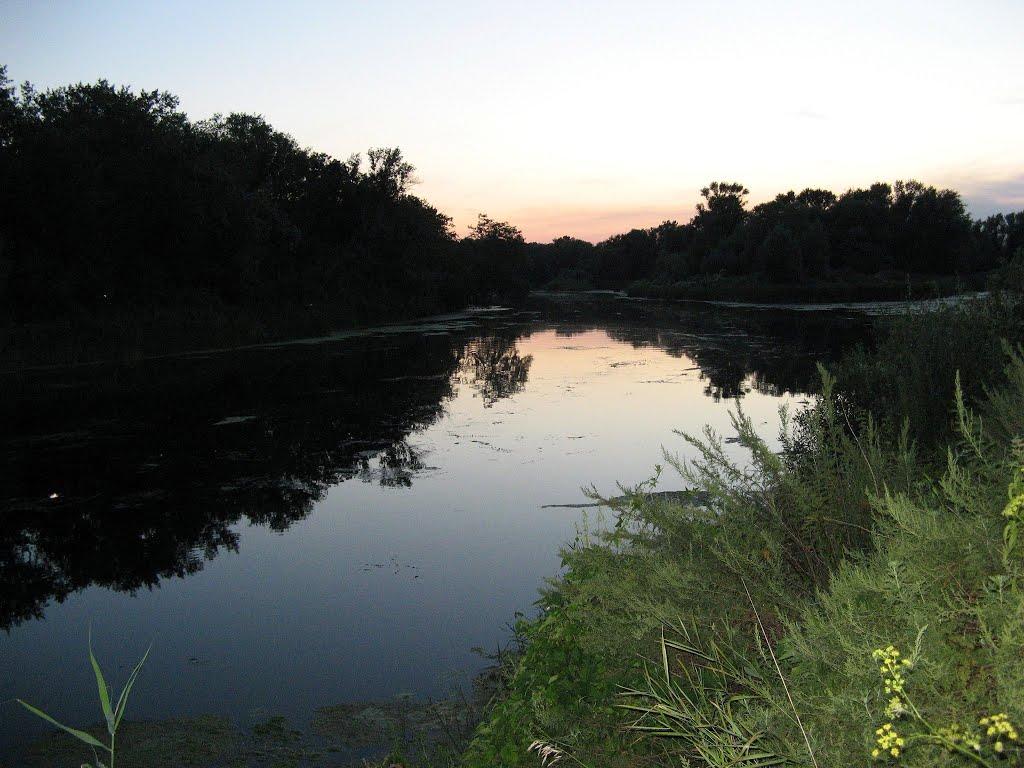 река Бузулук, Алексеевка, Волгоградская обл., Алексеевская