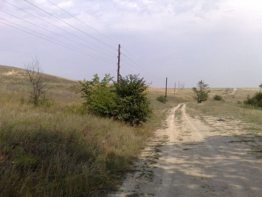 die Steppe, Алущевск