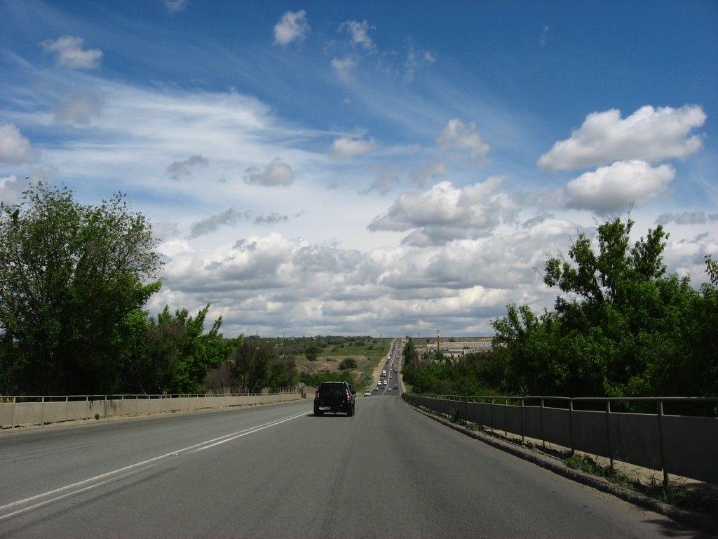 3-я продольная. The third bypass road of Volgograd., Алущевск