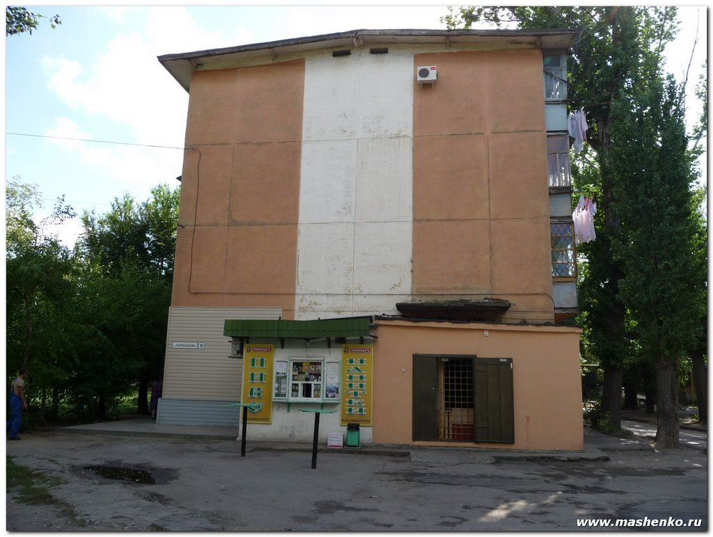 Пьяный дом, Алущевск