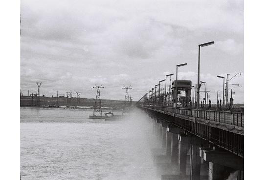 Volgagrad - HydroElectric power Station - Photo - 1969, Алущевск