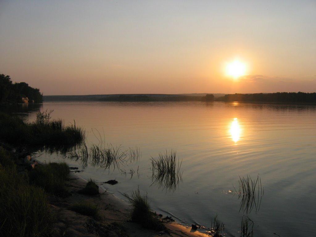 der stille Don im Abendlicht, Алущевск