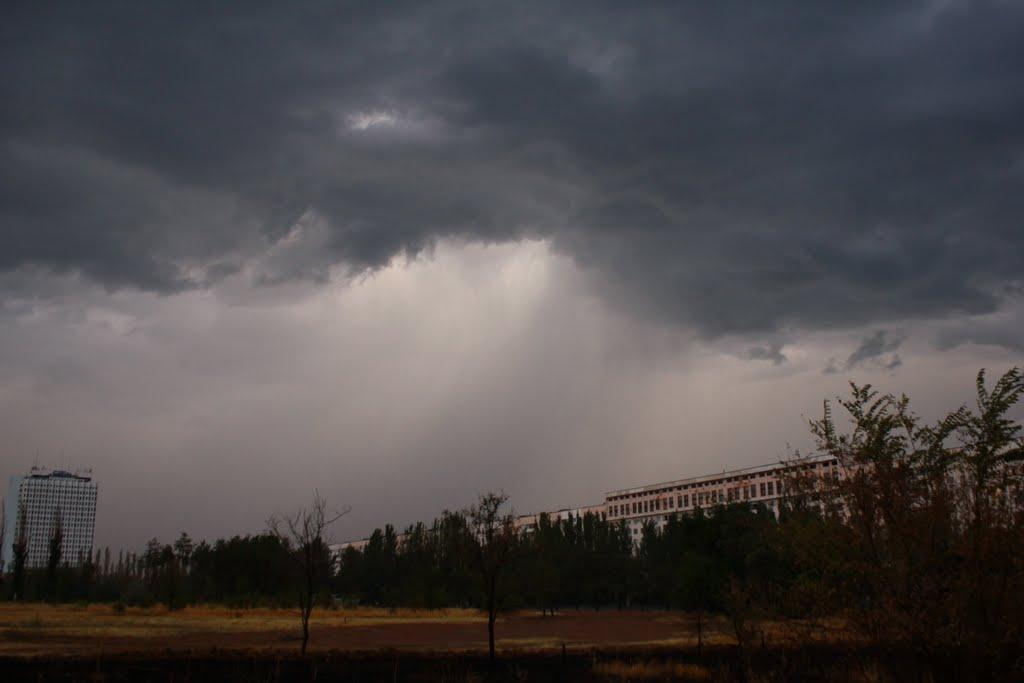 thunderstorm, Алущевск