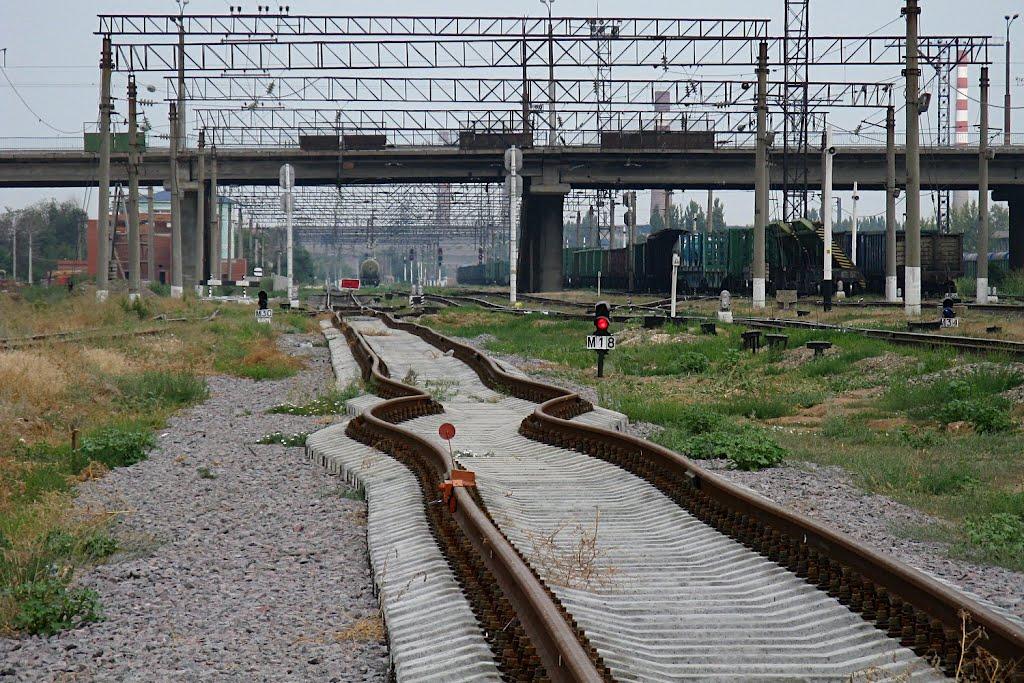 Красный свет- проезда нет! Хотя, как ехать?.. Red light-travel there! Although, like to go? .., Алущевск
