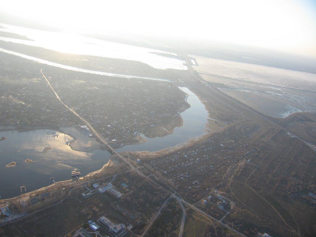 Начало Ахтубы, Алущевск