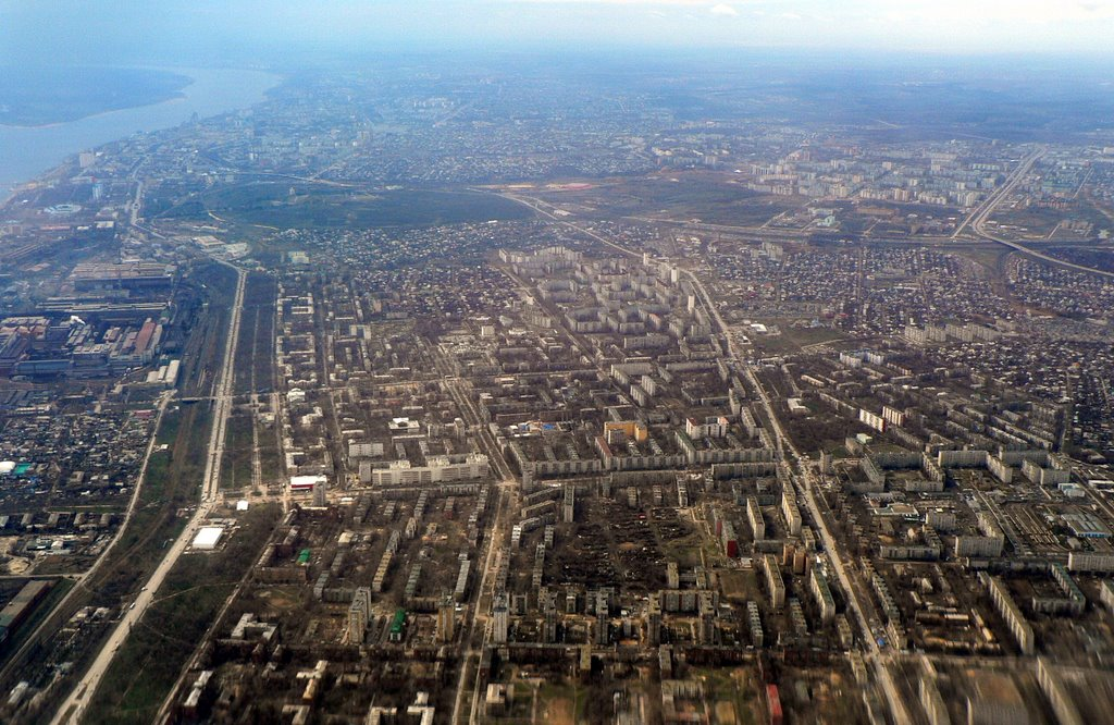 Over Northern Volgograd, Алущевск