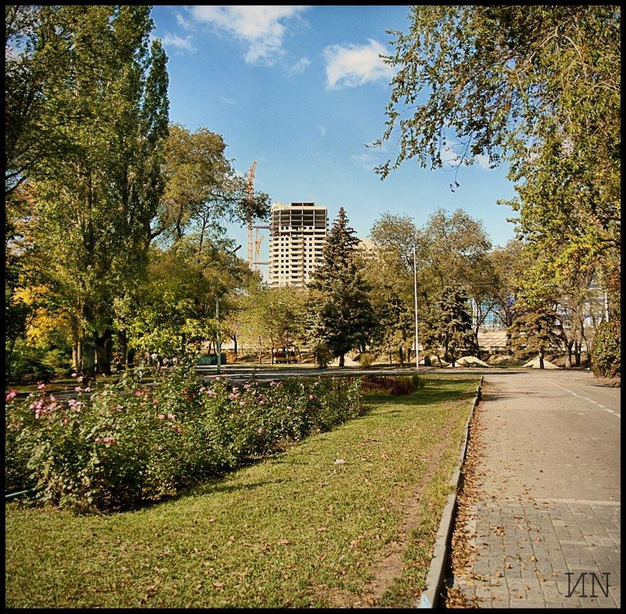 В горсаду, Волгоград