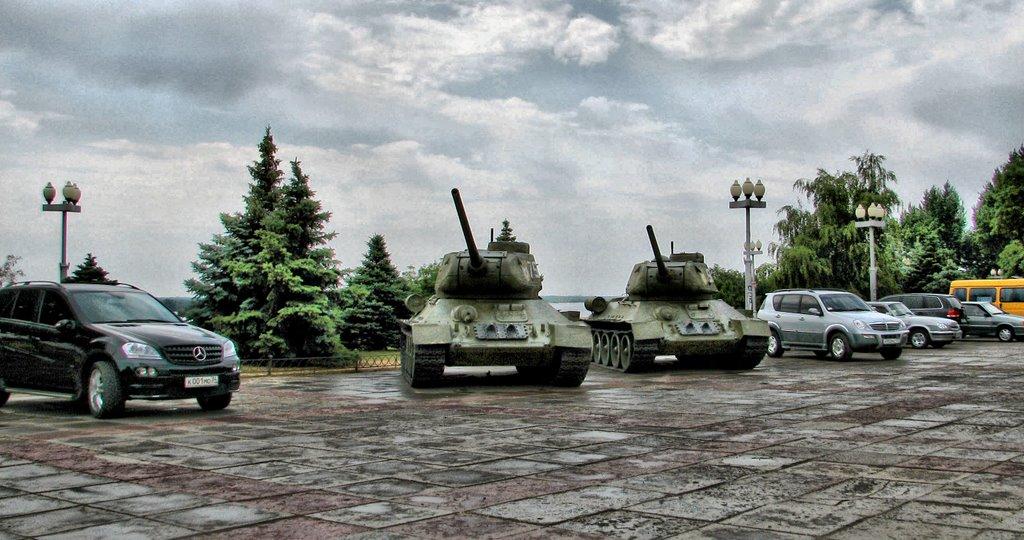 Tank parkingПарковка, Волгоград