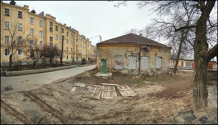 Panorama.Обычный двор, Волгоград