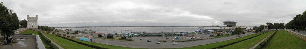 Панорама набережной Волгограда, Волгоград