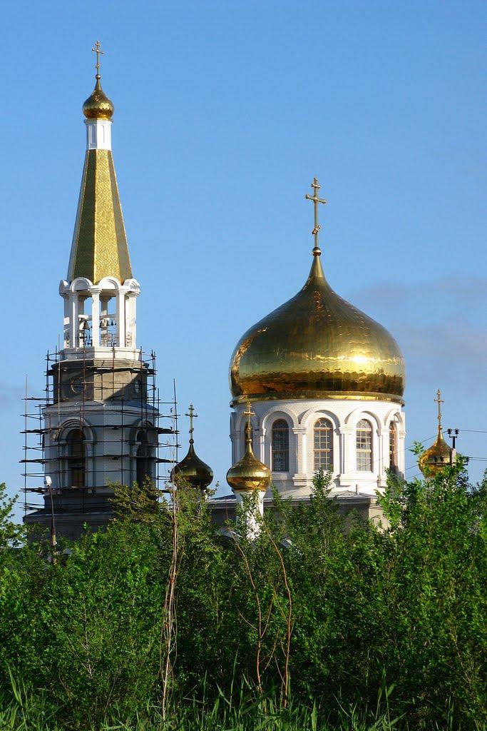 Церковь. The church., Волжский