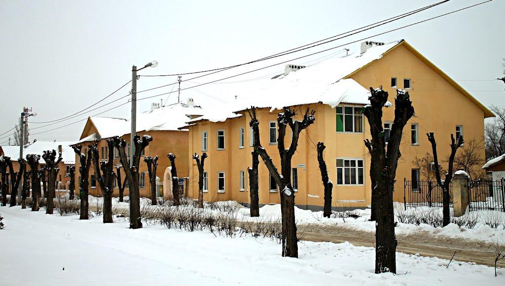 Улица Волгодонская. Volgodonsk Street., Волжский