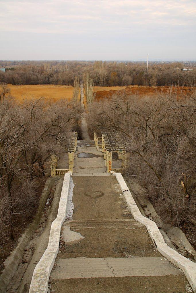 Спуск к реке., Волжский