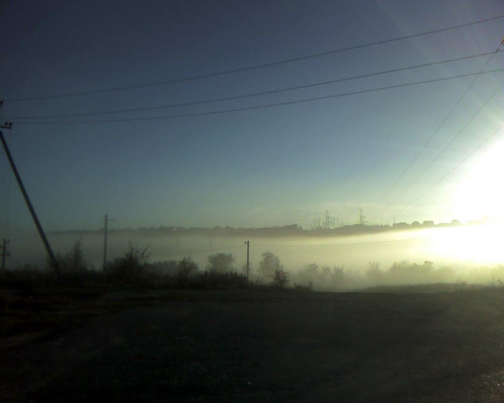 Туман ; Mist, Городище