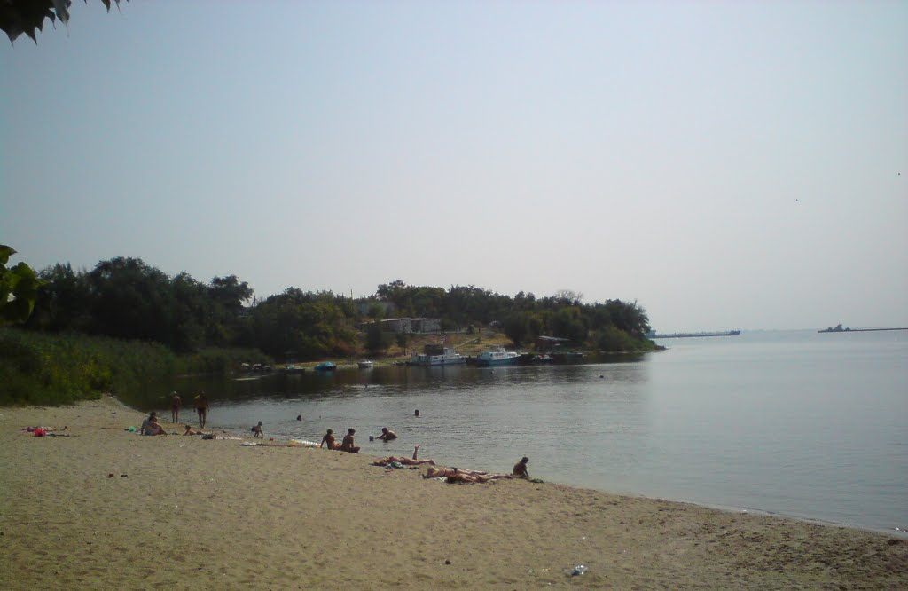 пляж дубовка, Дубовка