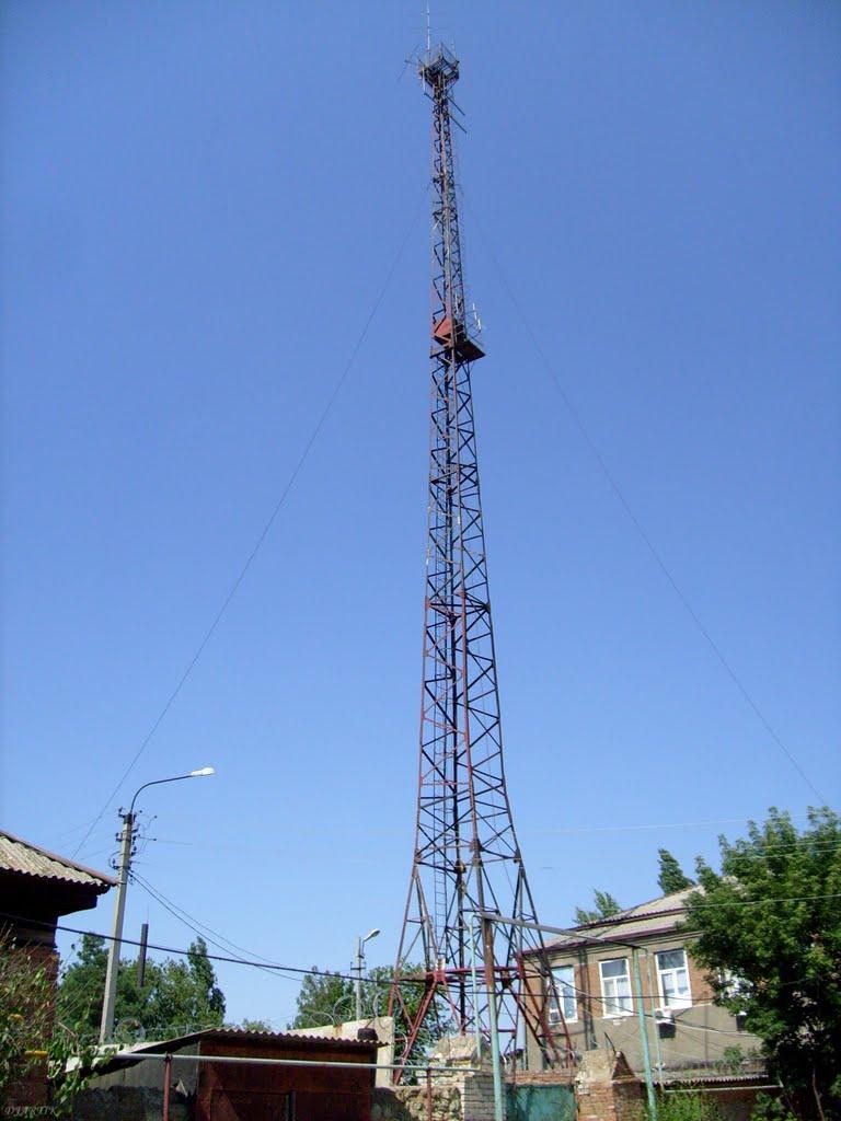 Вышка на территории РОВД, Дубовка