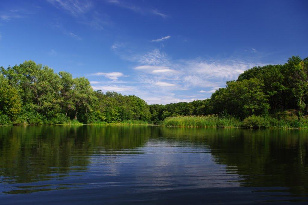 Река Терса, Елань