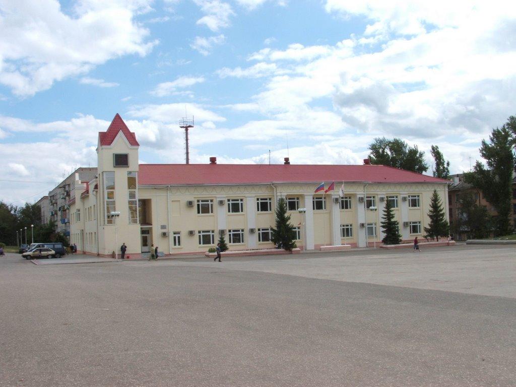здание НГДУ, Жирновск