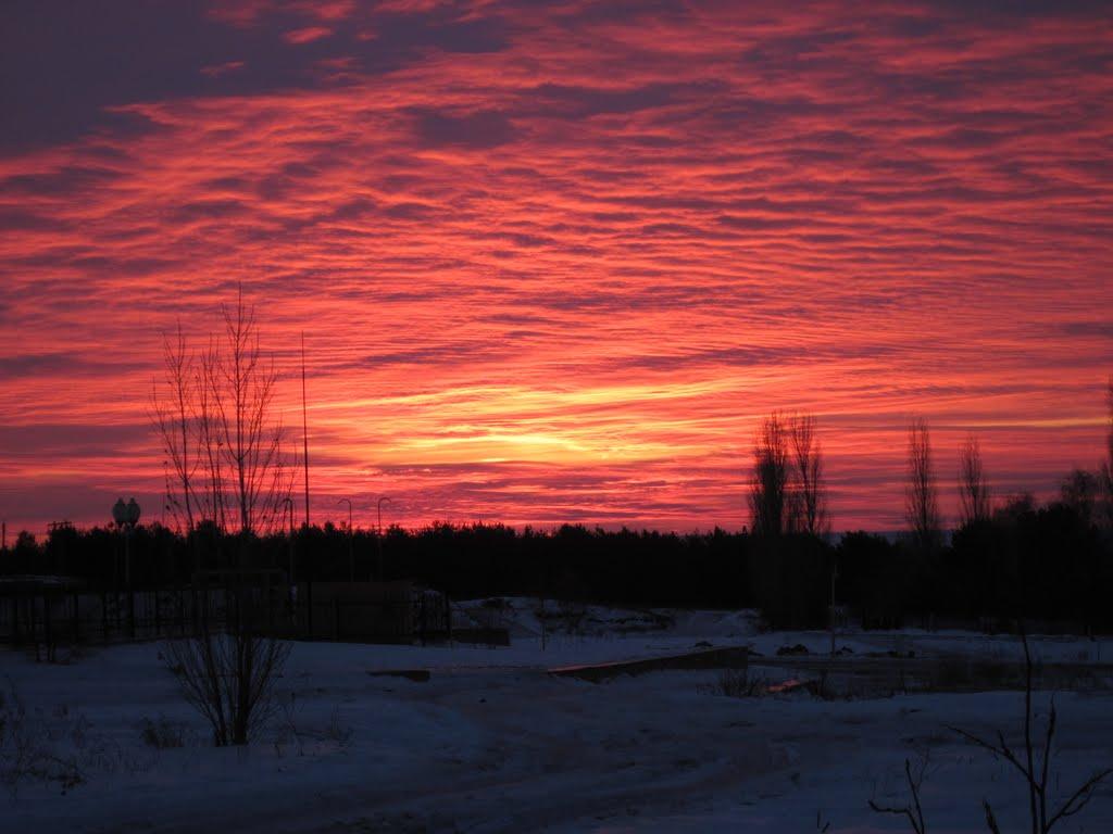 "Morning 31/12/2009  ""Saurons Eye"" :), Жирновск"