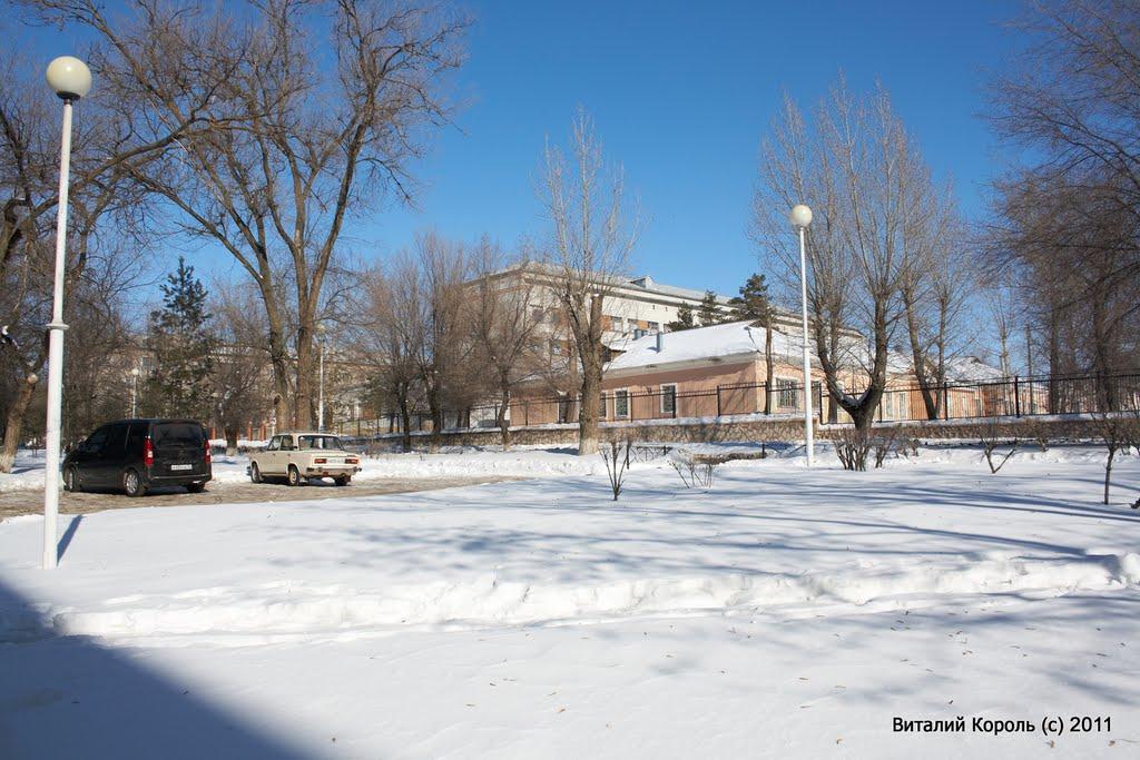 Больничный городок 2011г., Жирновск