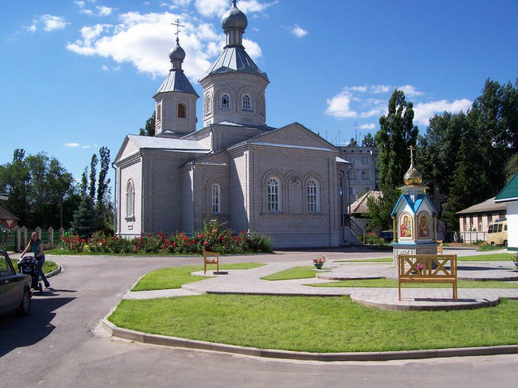 Храм св. Дмитрия Донского, Иловля