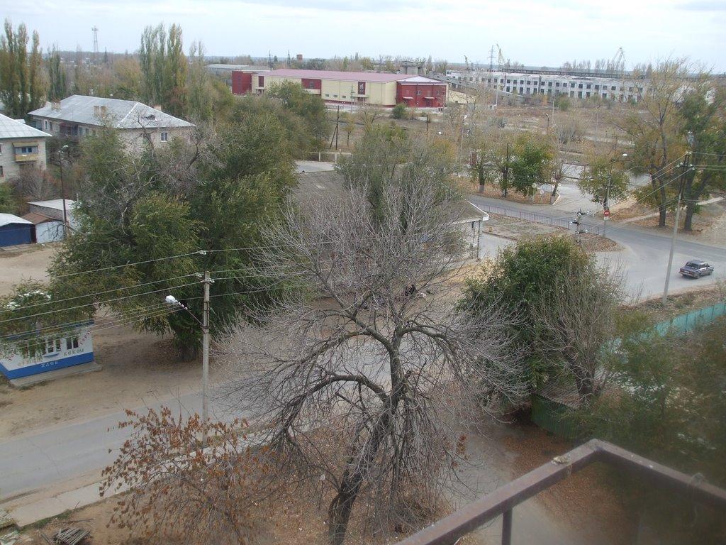 вид с крыши дома, Калач-на-Дону