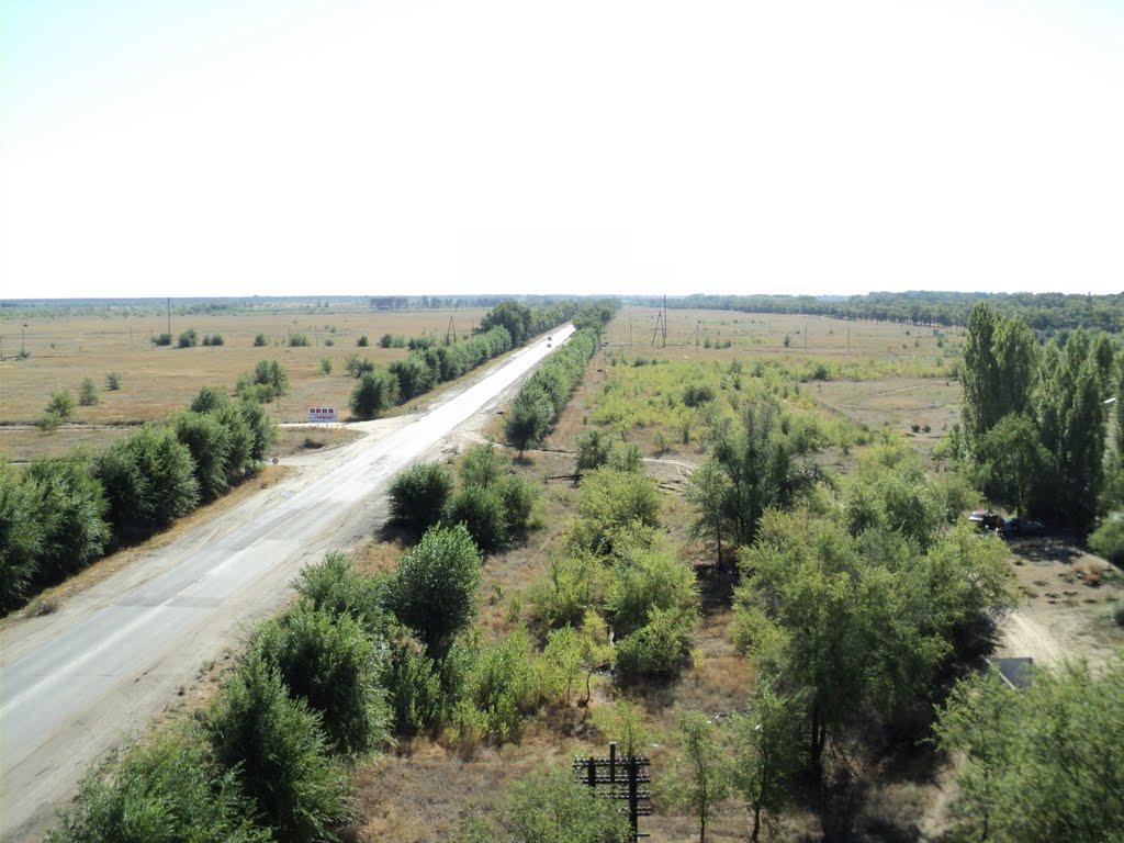 Дорога на Волгоград ( вид с 290 дома), Калач-на-Дону
