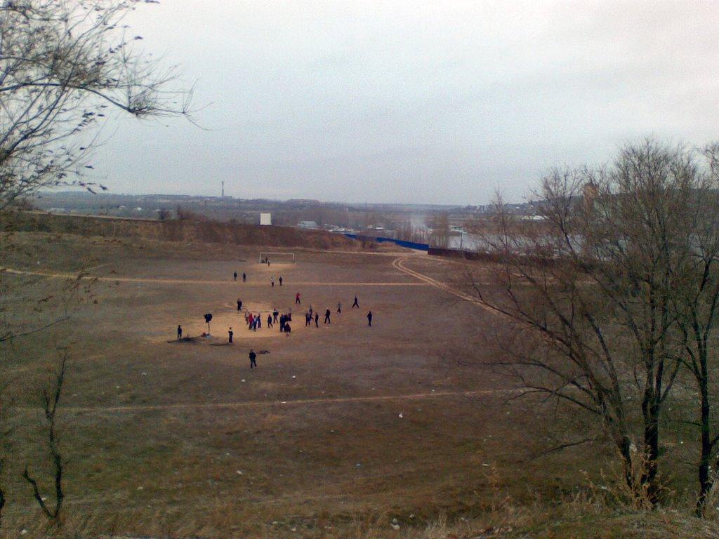 заброшенный стадион, Камышин