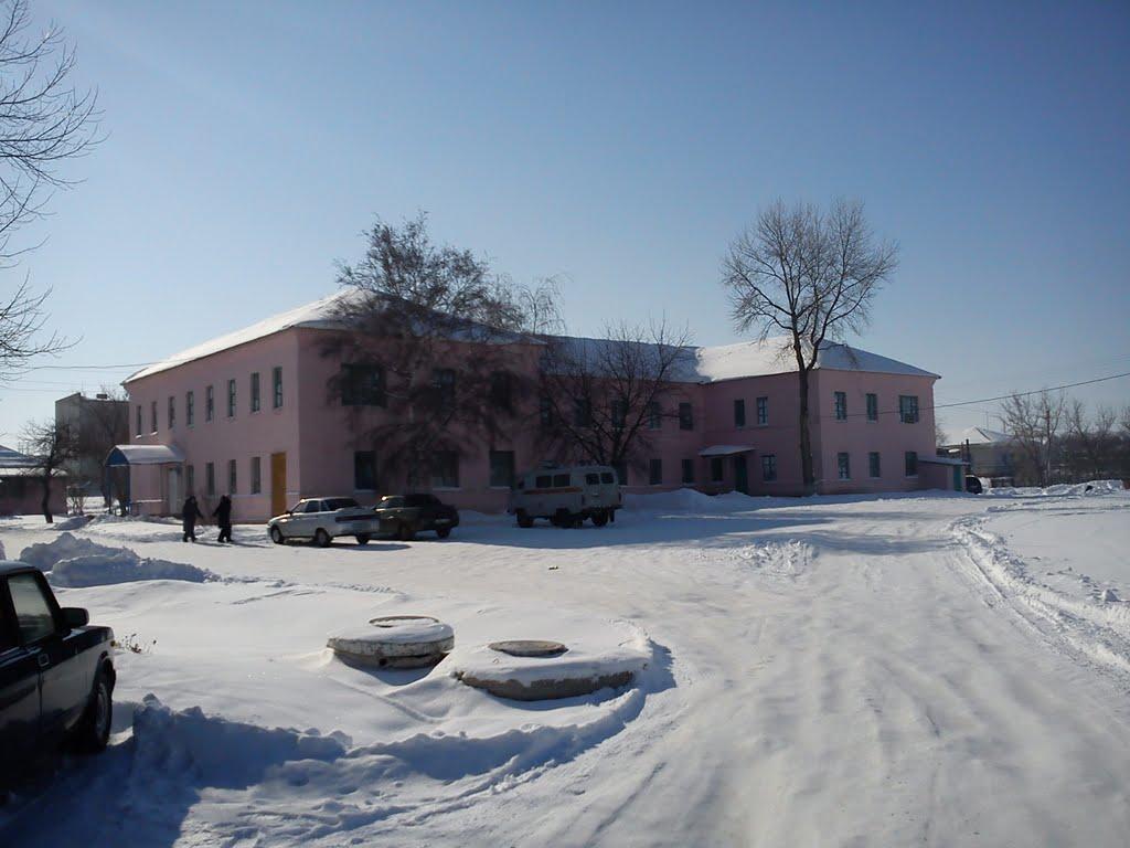 здание црб, Нехаевский