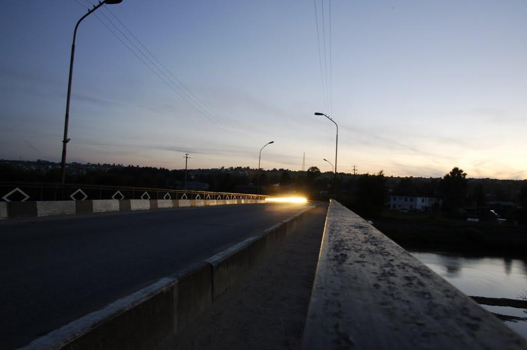 Мост через Вагу, Верховажье