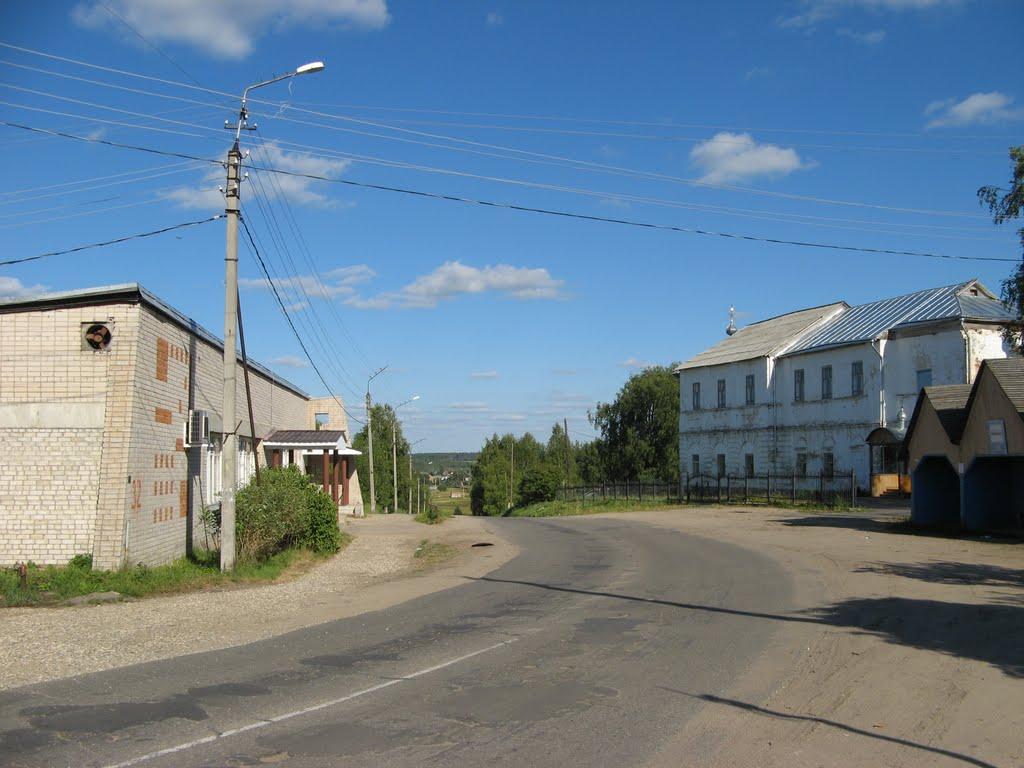 Sovetskaya street, Сямжа