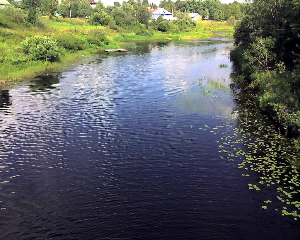 река Сямжена, Сямжа