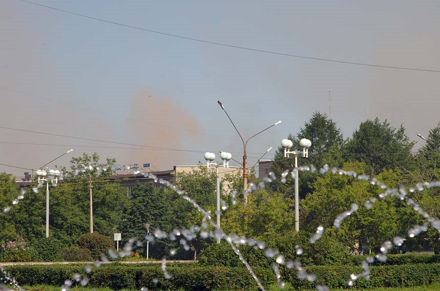 Такие облака постоянного витают над городом / Such kind of clouds are constantly soaring above the city (22/07/2007), Череповец
