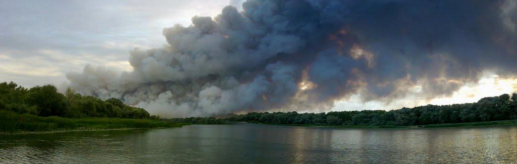 Пожар в Белянске, Верхний Мамон