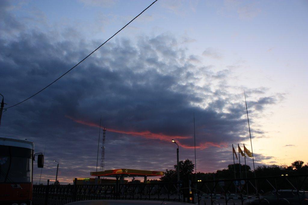Павловск, автовокзал. утро раннее...., Павловск