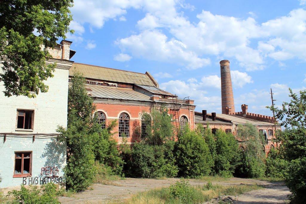 les ruines de lusine de production de sucre, Рамонь