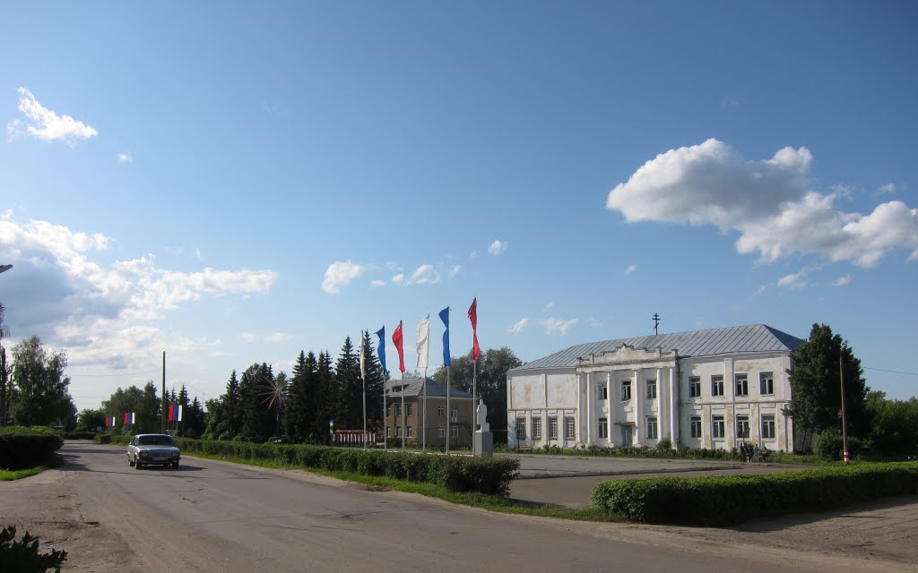central square, Вад