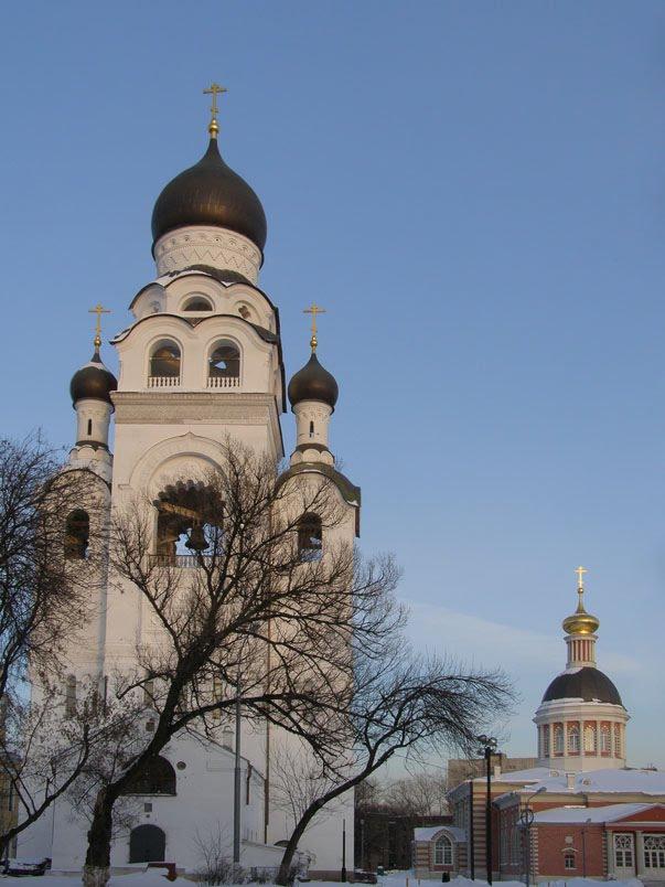 Москва Колокольня старообрядческой церкви, Горький