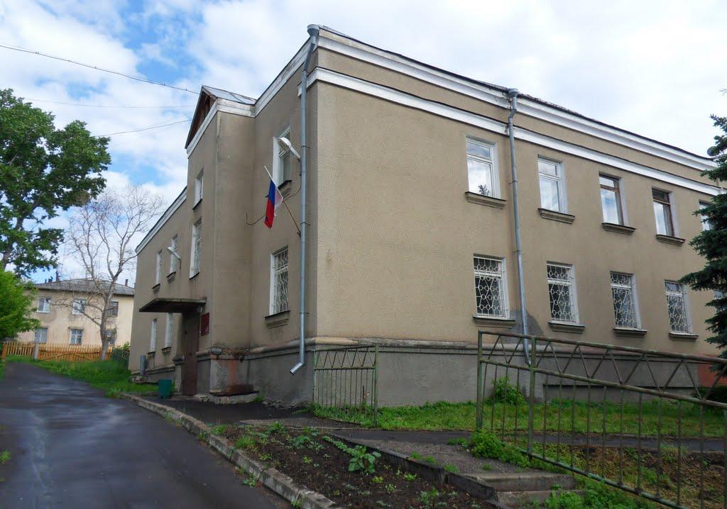 Здание Дальнеконстантиновского районного суда, Дальнее Константиново