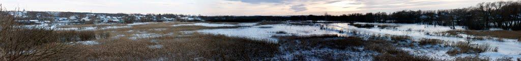 Княгинино вид с реки Имза, Княгинино