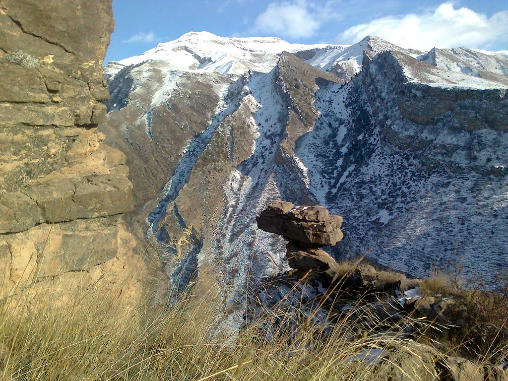 in the mount, Гергебиль