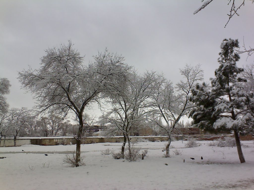 Зима..., Каспийск