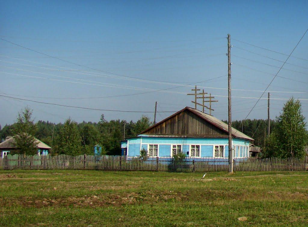 Православный приход в здании бывшего КБО., Атагай
