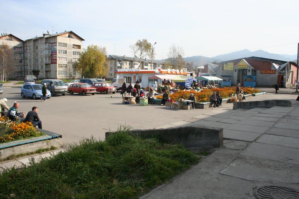 Центр города Байкальска, Байкальск